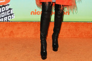 Naomi Scott Over the Knee Boots
