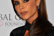 Victoria Beckham Long Side Part