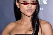 Karrueche Tran Long Straight Cut