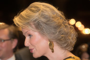 Queen Mathilde of Belgium Short Curls