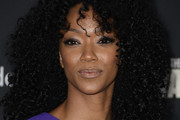 Sonequa Martin-Green Medium Curls with Bangs