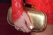Alli Simpson Metallic Clutch