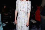 Rose Leslie Print Dress