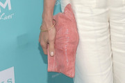 Andie MacDowell Patent Leather Clutch