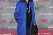 Sally Field Wool Coat