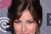Kelly Macdonald Bobby Pinned Updo
