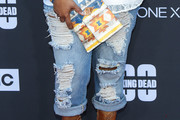 Yvette Nicole Brown Ripped Jeans