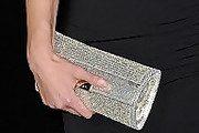 Susie Abromeit Metallic Clutch