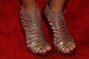 Charice Pempengco Strappy Sandals