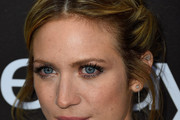 Brittany Snow Twisted Bun
