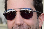 David Schwimmer Aviator Sunglasses