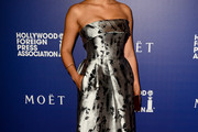 Jessica Parker Kennedy Strapless Dress
