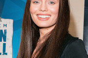 Laura Haddock Long Straight Cut