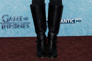 Gemma Whelan Knee High Boots