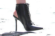 Taylor Momsen Ankle boots
