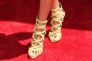La La Anthony Gladiator Heels
