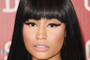 Nicki Minaj Long Straight Cut with Bangs