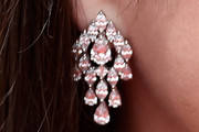 Marion Cotillard Diamond Chandelier Earrings
