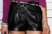 Samaire Armstrong High-Waisted Shorts
