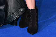 Maisie Williams Lace Up Boots