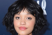 Kiersey Clemons Curled Out Bob