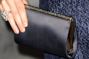Claire Forlani Satin Clutch