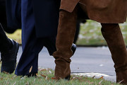 Melania Trump Over the Knee Boots