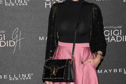 Amber Le Bon Studded Shoulder Bag