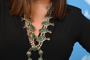 Alisan Porter  Gemstone Statement Necklace