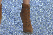 Stella Maxwell Lace Up Boots