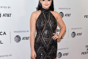 Ariel Winter Halter Dress