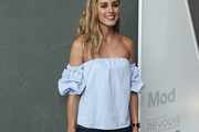 Olivia Palermo Off-the-Shoulder Top