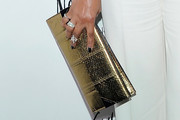 Vivica A. Fox Metallic Clutch