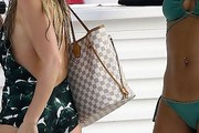 Chanel West Coast Printed Tote