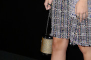 Zoey Deutch Chain Strap Bag