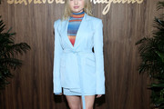 Peyton List Skirt Suit