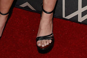 Alyson Michalka Platform Sandals