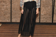 Leandra Medine Sheer Skirt
