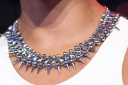 Miss Mykie Silver Statement Necklace