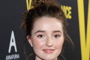 Kaitlyn Dever Messy Updo