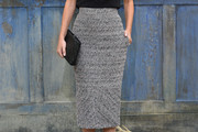 Virginie Ledoyen Pencil Skirt