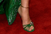 Celine Dion Strappy Sandals