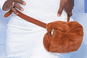 Serena Williams Fur Purse