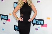 Kim Zolciak Little Black Dress