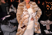 Mary J. Blige Fur Coat