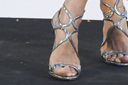 Elsa Pataky Strappy Sandals