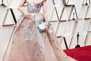 Michelle Yeoh Off-the-Shoulder Dress