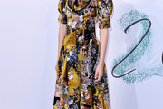 Stacy Martin Print Dress