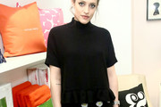 Carly Chaikin Peplum Top