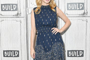 Heather Graham Embroidered Dress